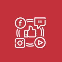 acciones de Social media